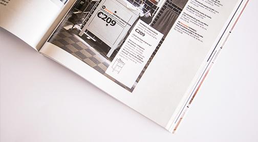 Reparto catálogo Ikea